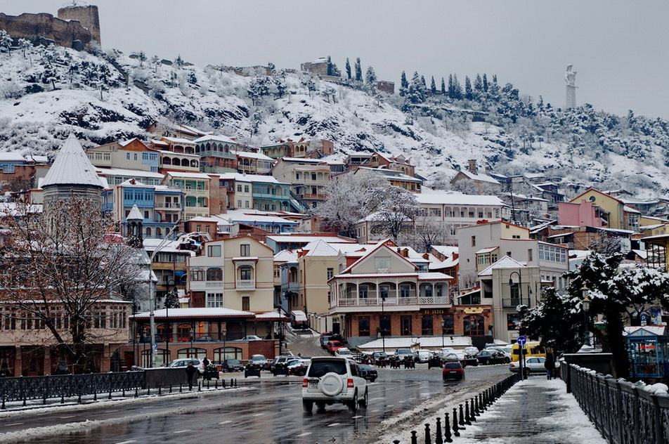 Winter Tbilisi | www.TourismGeo.сom