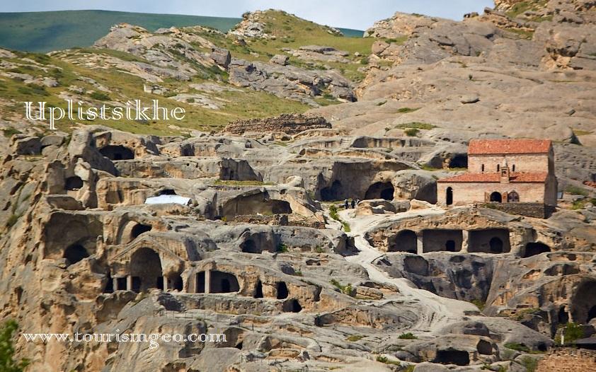Uplistsikhe, ancient cave city |www.tourismgeo.com
