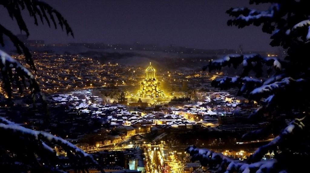 Winter   Tbilisi_ Georgia