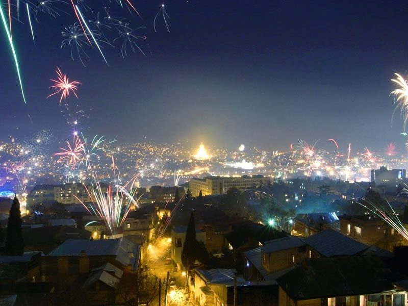 New_Year. Tbilisi